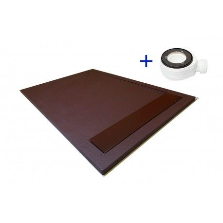 Plato de ducha Premium Color Chocolate marron